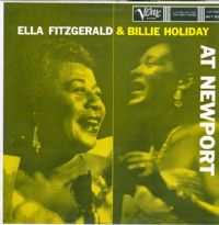 "Ella Fitzgerald & Billie Holiday-At Newport (Secondhand First Release) [12"" LP 1958]"